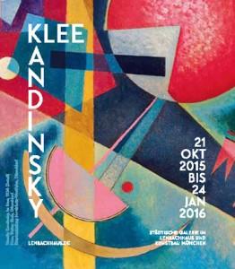 Ausstellungsplakat Klee und Kandinsky