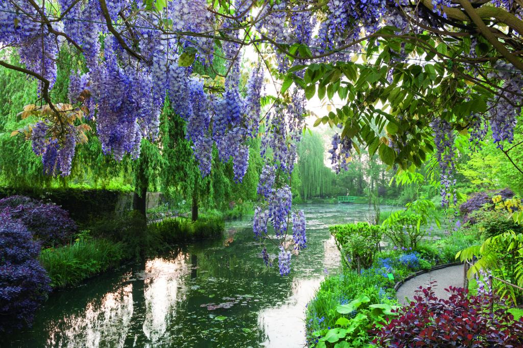 Claude Monets Garten in Giverny © Jean-Pierre Gilson, Hirmer Verlag