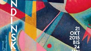 Ausstellungsplakat Klee Kandinsky