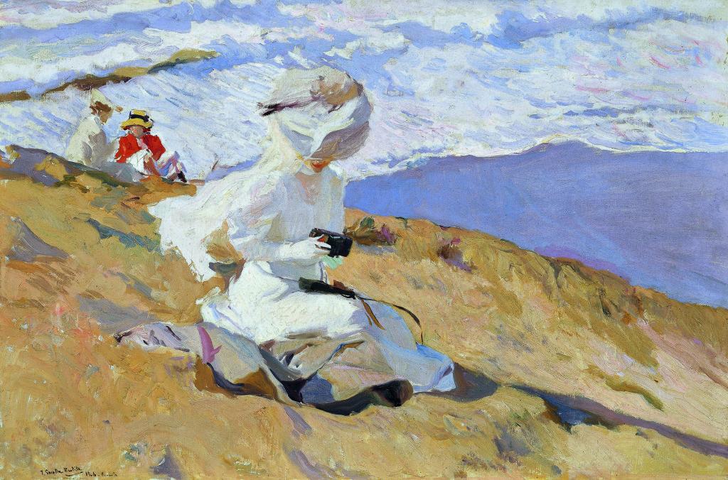 Joaquín Sorolla, Momentaufnahme, Biarritz, 1906, Museo Sorolla, Madrid