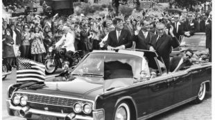 John F. Kennedy, Willy Brandt, Konrad Adenauer in Berlin, 26. Juni 1963 Foto: Ulrich Mack