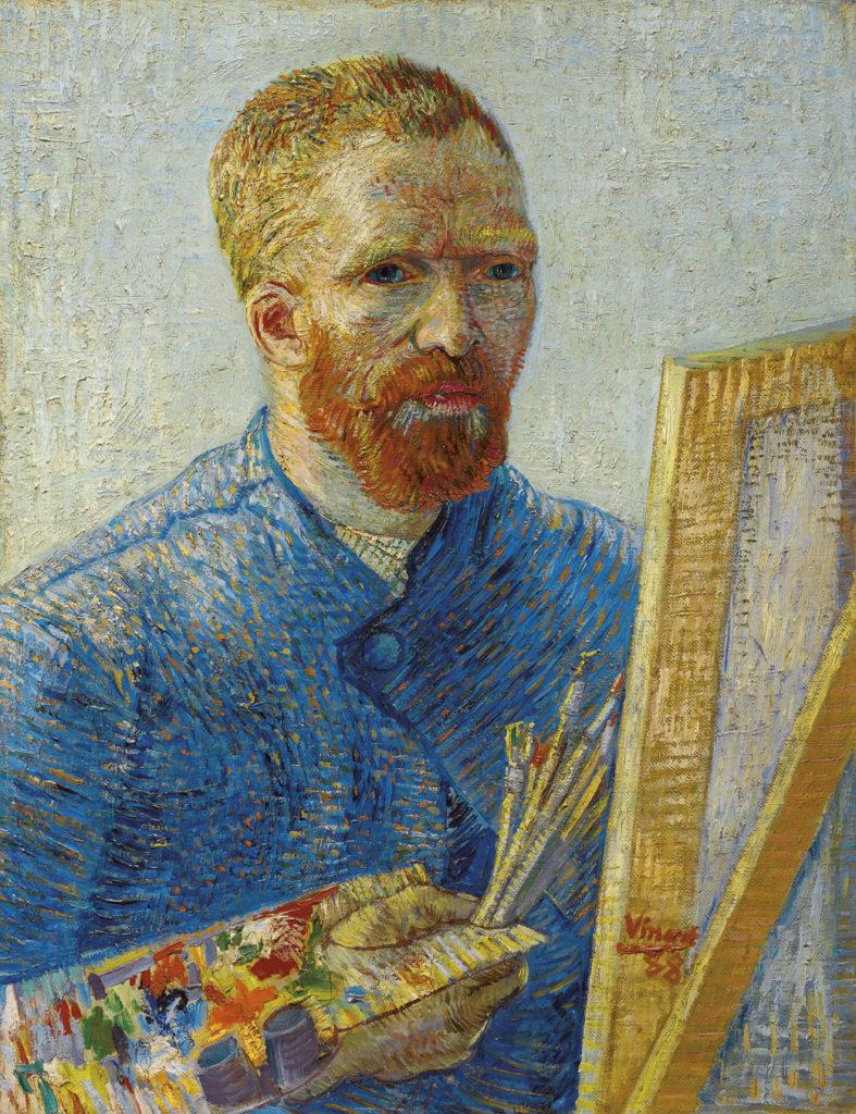 Vincent van Gogh, Selbstporträt als Maler, 1887