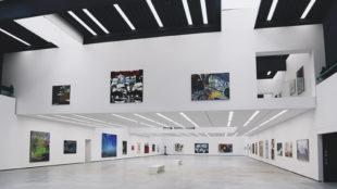 Große Ausstellungshalle des Museum Angerlehner Foto: Johannes Holzmann