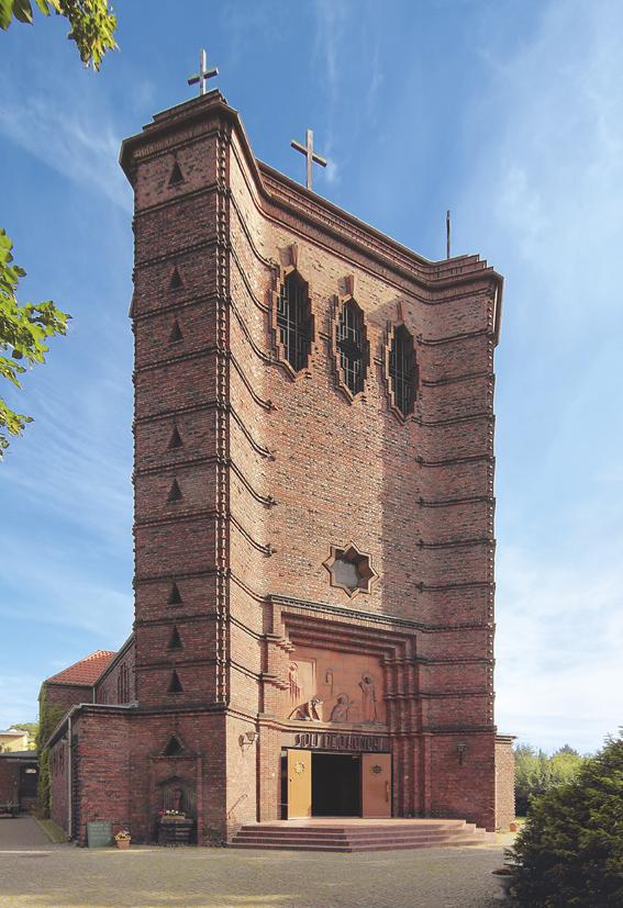 Maria-Magdalenen-Kirche in Berlin. Gebaut: 1929 - 30. Architekt: Felix Sturm Foto: Niels Lehmann