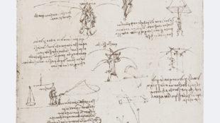 Leonardo da Vinci, Il Codice Atlantico, Mailand 1899/1900, Blatt 381 verso