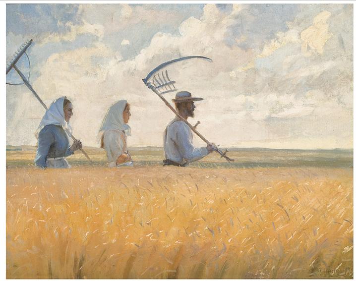 Anna Ancher, Erntezeit, 1901