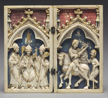 Szenen aus dem Leben des hl. Martin von Tours, 1340–1350 © The Cleveland Museum of Art