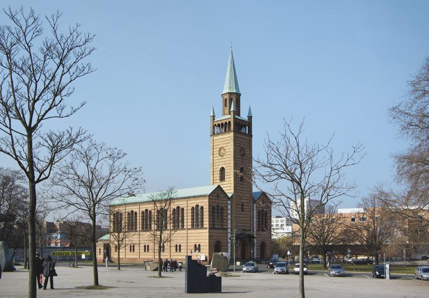 St. Matthäuskirche am Kulturforum, Berlin Foto: Berthold Werner