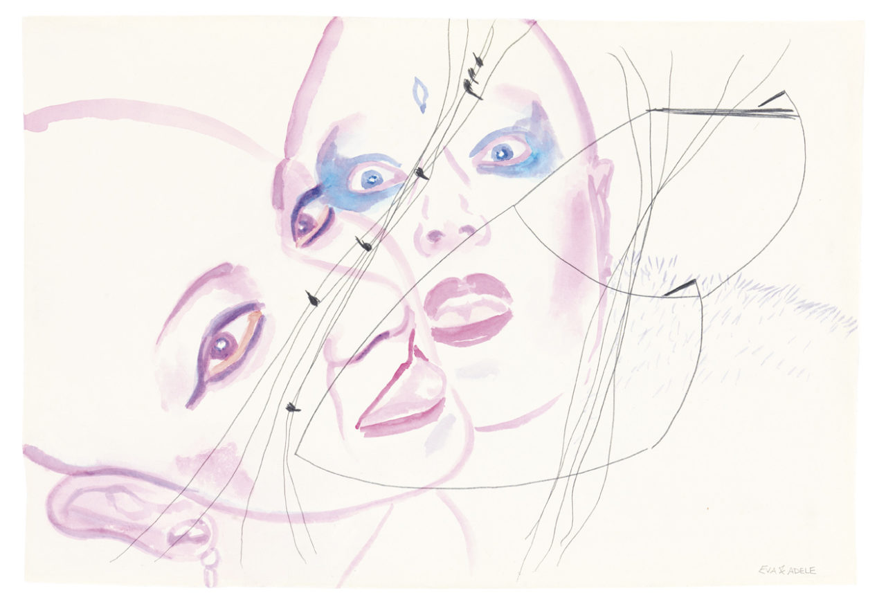 Eva & Adele, Tides 16, 2012 Courtesy Galerie Nicole Gnesa, München, Foto Lea Gryze