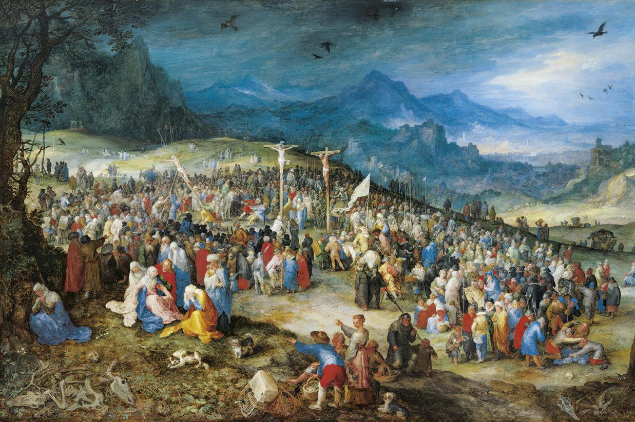 Jan Brueghel d. Ä., Der Kalvarienberg, 1598