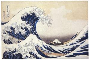 Hokusai Katasushika, Die große Welle vor Kanagawa, um 1830