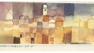Paul Klee, Ansicht v. Kairuan, Detail, 1914 Franz Marc Museum, Kochel am See