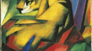 Franz Marc, Der Tiger, 1912 © Städtische Galerie im Lenbachhaus und Kunstbau, München