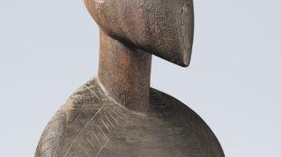 Tino aitu-Skulptur, benannt: Ko Kawe, 1877 von J. S. Kubary gesammelt, Foto: Paul Schimweg, © Museum für Völkerkunde