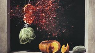Ori Gersht, Pomegranate, Videostill (Detail), 2006 © Courtesy of the artist and Mummery + Schnelle Ltd., London
