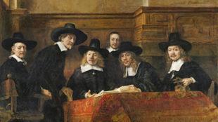 Rembrandt, Die Vorsteher der Tuchmacherzunft, 1662, Rijksmuseum Amsterdam