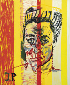 Martin Kippenberger, Untitled, aus der Serie Jacqueline: The Paintings Pablo Couldn´t Paint Anymore, 1996 Foto: Mamco, Genf – I. Kalkkinen, Genf © Estate Martin Kippenberger