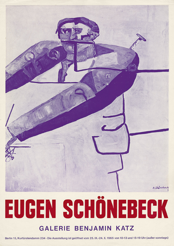 Ausstellungsplakat, Berlin 1965 © Benjamin Katz