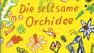 Cover der Erzählung von H. G. Wells Die seltsame Orchidee, Band 42 der Tollen Hefte
