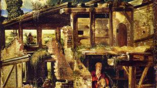 Albrecht Altdorfer, Geburt Christi, um 1511, Staatliche Museen zu Berlin, Gemäldegalerie, Berlin Foto: Staatliche Museen zu Berlin/Gemäldegalerie, Berlin
