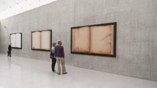 Reading Ed Ruscha, Ausstellungsansicht 3. OG, Kunsthaus Bregenz © Christian Hinz