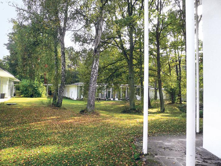 Sep Ruf entwarf die 1954 erbauten Pavillons der Akademie für den bewaldeten Campus am östlichen Stadtrand Nürnbergs © Akademie der Bildenden Künste in Nürnberg