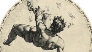 Hendrick Goltzius, Phaeton, 1588, Kunstmuseum Basel, Kupferstichkabinett © Foto: Kunstmuseum Basel – Martin P. Bühler