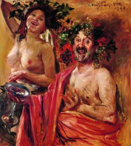 Lovis Corinth, Bacchantenpaar, 1908, Museum Georg Schäfer, Schweinfurt