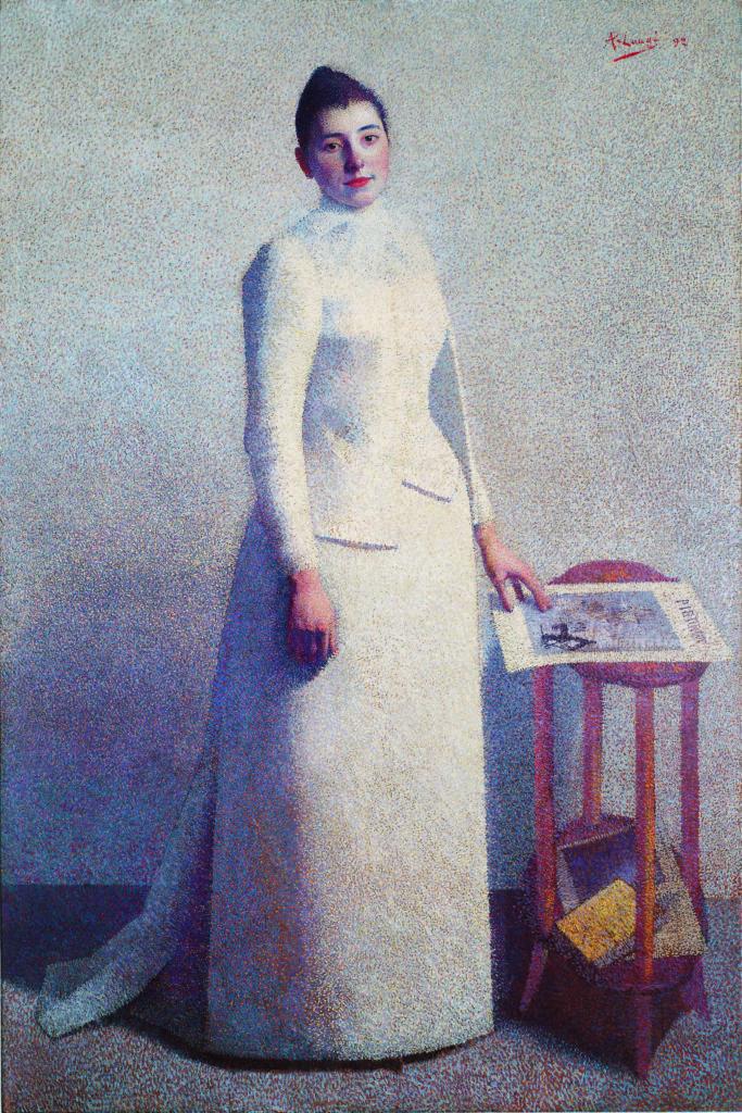 Achille Laugé, Madame Astre, 1892, Musée des Beaux-Arts, Carcassonne