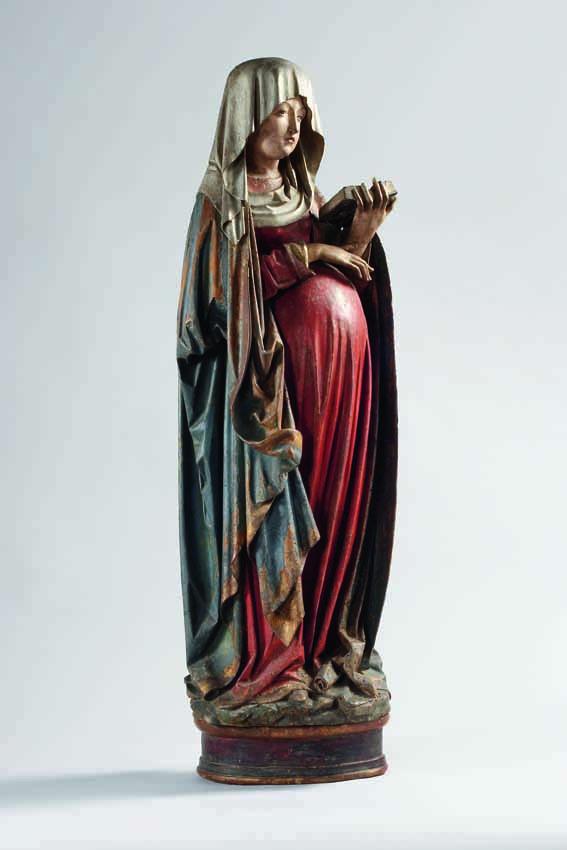 Maria in der Hoff nung, Schwaben, Anfang 16. Jh., Liebieghaus Skulpturensammlung, Frankfurt a.M. © Foto: Rühl & Bohrmann
