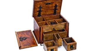 Sogenannter Schreibkasten Luthers, 1. Hälfte 16. Jh. © Angermuseum Erfurt, Foto: Dirk Urban