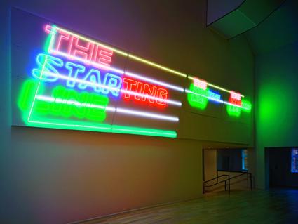 Michel Majerus, Olympia 2050, 2011 Foto: Lenbachhaus Städtische Galerie im Lenbachhaus und Kunstbau, München, KiCo Stiftung