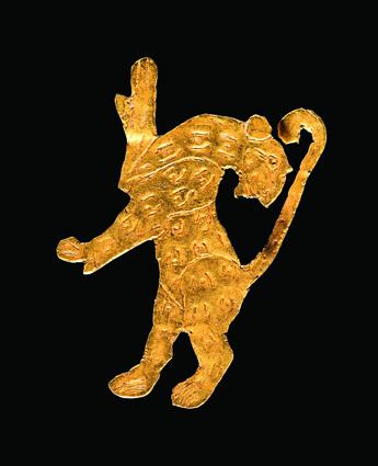 Löwenfigur, Malyan, 4. Jt. v. Chr.